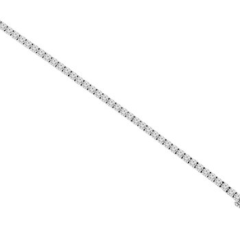8 1/3ct tw NewBorn Lab Created Diamond Tennis Bracelet in 14K White Gold