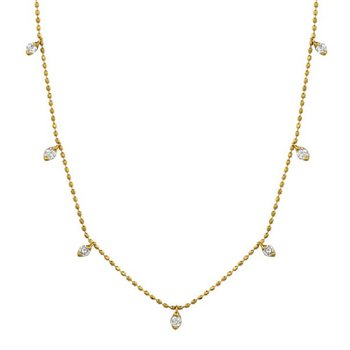 1/2ct tw Diamond Fashion Necklace in 18K Yellow Gold