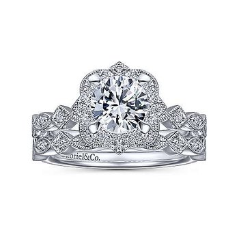 .07ct tw Diamond Wedding Ring in 14K White Gold