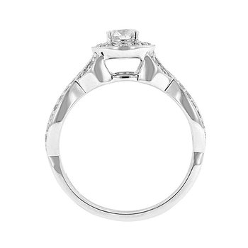 5/8ct tw Diamond Together Forever Engagement Ring in 14K White Gold