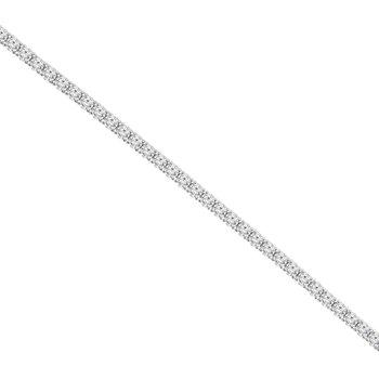 12ct tw NewBorn Lab Created Diamond Tennis Bracelet in 14K White Gold