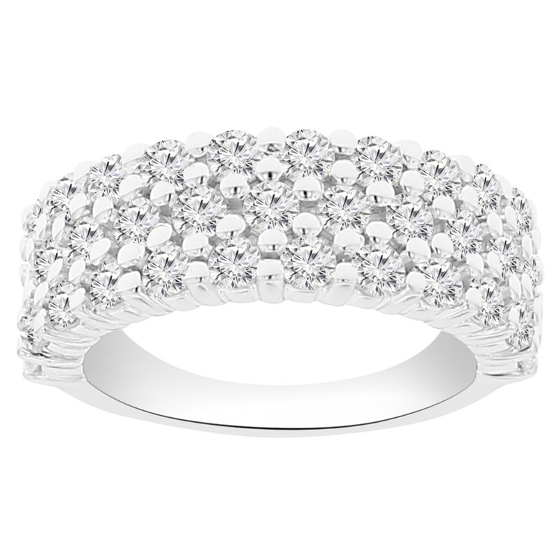 1 7/8ct tw NewBorn Lab Created Diamond Fashion Ring in 14K White Gold