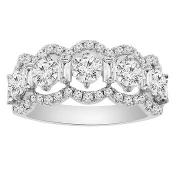 2ct tw Diamond Fashion Ring in 18K White Gold
