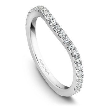1/3ct tw Diamond Wedding Ring in 14K White Gold