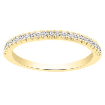 1/5ct tw Diamond Stackable Ring in 14K Yellow Gold