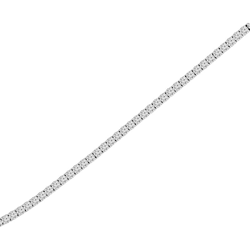 3ct tw NewBorn Lab Created Diamond Tennis Bracelet in 14K White Gold