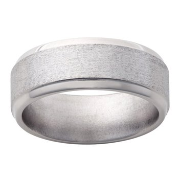 9mm Wedding Ring in Titanium