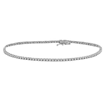 1ct tw Diamond Tennis Bracelet in 14K White Gold