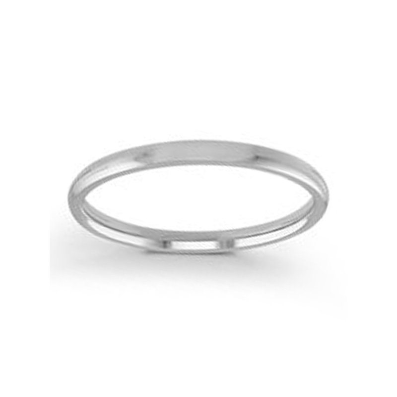2mm Wedding Ring in Palladium