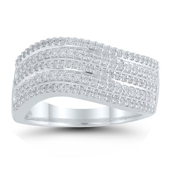 1/2ct tw Diamond Fashion Ring in 10K White Gold