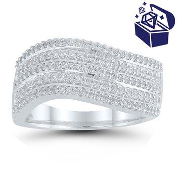 Treasure Hunt Value 1/2ct tw Diamond Fashion Ring in 10K White Gold