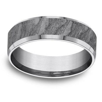 7mm Wedding Ring in Grey Tantalum