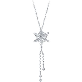 1/10ct tw Diamond Frozen Necklace in Sterling Silver