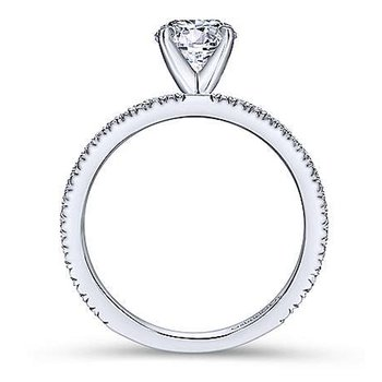 2 1/8ct tw NewBorn Lab Created Diamond Ring in 14K White Gold