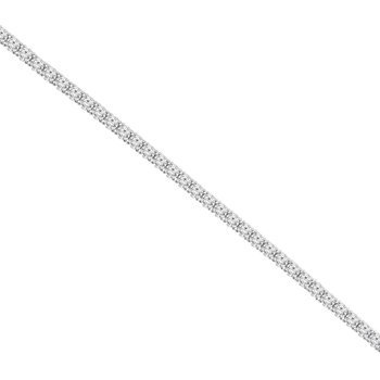 12 7/8ct tw NewBorn Lab Created Diamond Tennis Bracelet in 14K White Gold