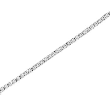 7ct tw NewBorn Lab Created Diamond Tennis Bracelet in 14K White Gold