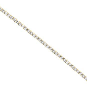 9 5/8ct tw NewBorn Lab Created Diamond Tennis Bracelet in 14K Yellow Gold