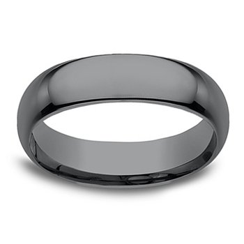6.5mm Wedding Ring in Tantalum