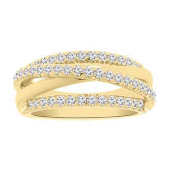 5/8ct tw Diamond Fashion Ring in 14K Yellow Gold