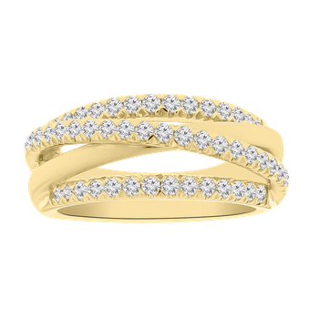 5/8ct tw Diamond Fashion Ring in 14K Yellow Gold