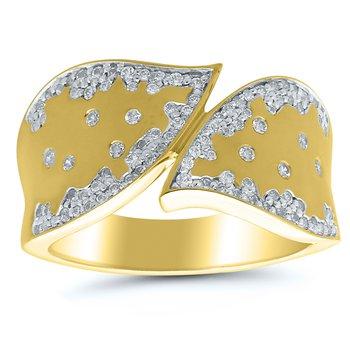 3/8ct tw Diamond Fashion Ring in 10K Yellow Gold