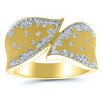 3/8ct tw Diamond Fashion Ring in 10K Yellow Gold