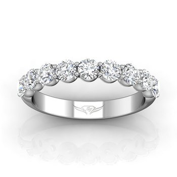 1 1/4ct tw Diamond Anniversary Ring in 14K White Gold