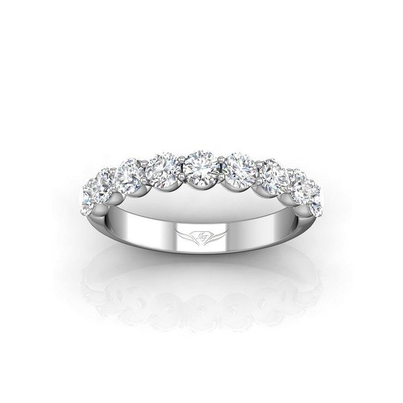 1 1/4ct tw Diamond Anniversary Ring in 14K White Gold