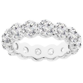 4 7/8ct tw NewBorn Lab Created Diamond Eternity Ring in 14K White Gold