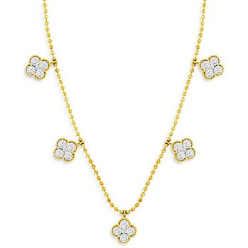 1ct tw Diamond Fashion Necklace in 14K Yellow Gold