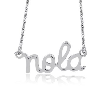 NOLA Necklace in Sterling Silver