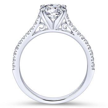 1 1/4ct tw Diamond Engagement Ring in 14K White Gold