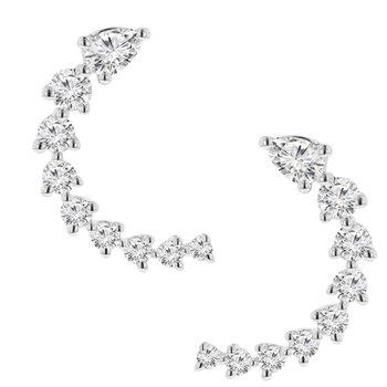 1/3ct tw Diamond Earrings in 14K White Gold
