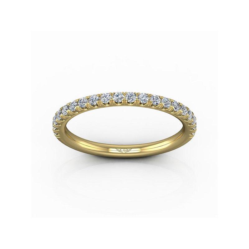 1/4ct tw Diamond Wedding Ring in 14K Yellow Gold