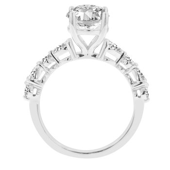 2ct tw NewBorn Lab Created Diamond Engagement Ring in 14K White Gold