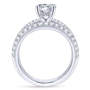 1 7/8ct tw Diamond Engagement Ring in 14K White Gold