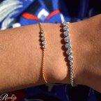 2ct tw Diamond Bolo Bracelet in 14K White Gold.