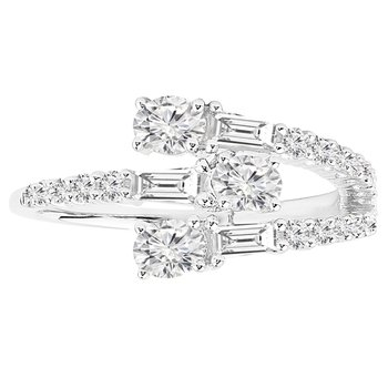 7/8ct tw Diamond Fashion Ring in 14K White Gold