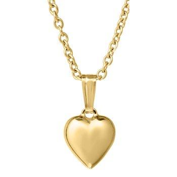 Heart Necklace 14K Gold Filled