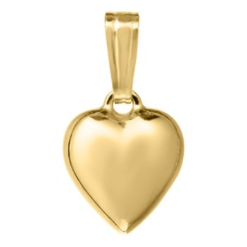 Heart Necklace 14K Gold Filled