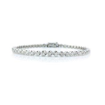 1ct tw Diamond Tennis Bracelet in Sterling Silver