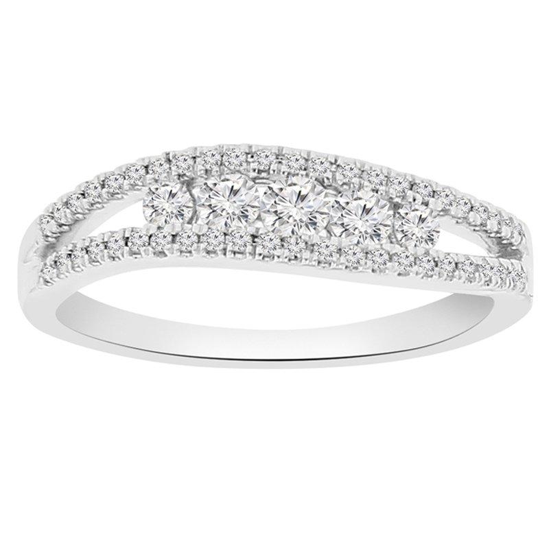 3/8ct tw Diamond Fashion Ring in 10K White Gold