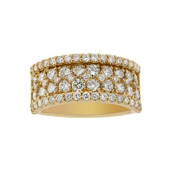 2ct tw Diamond Fashion Ring in 14K Yellow Gold
