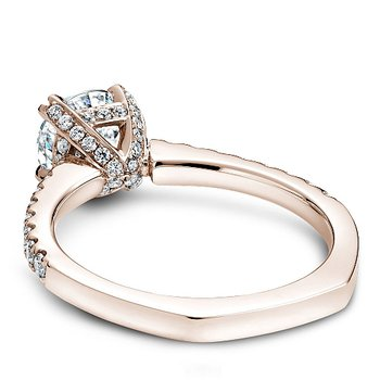 1 1/3ct tw Diamond Engagement Ring in 14K Rose  Gold