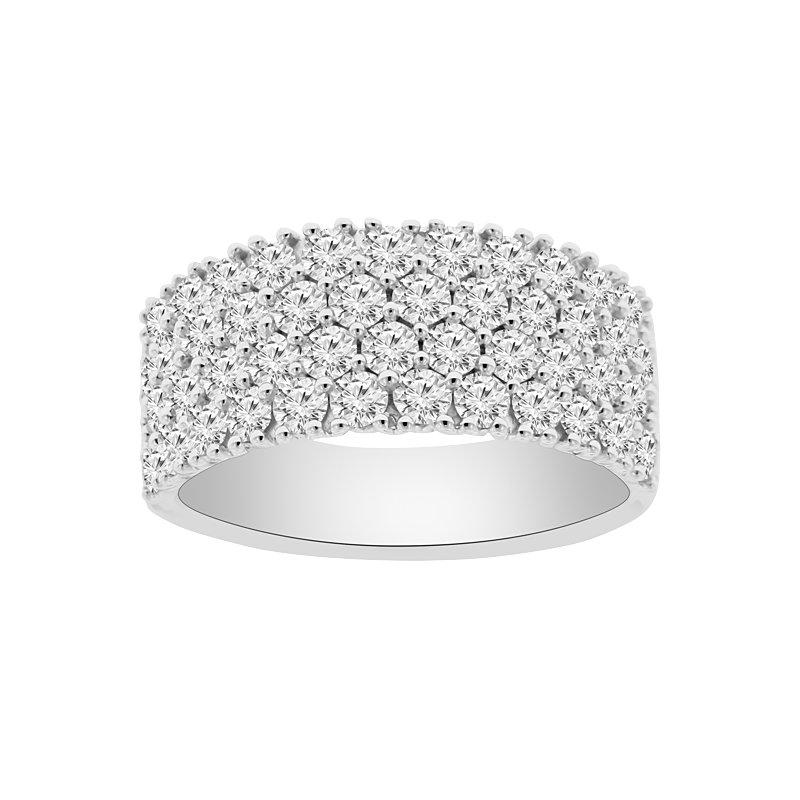 1 7/8ct tw Diamond Fashion Ring in 18K White Gold