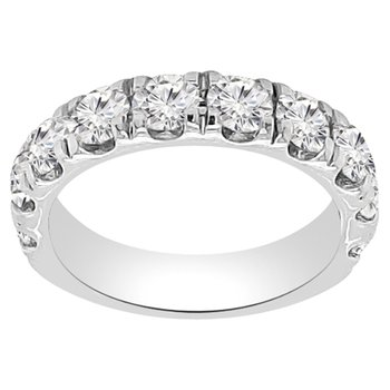 2ct tw NewBorn Lab Created Diamond Wedding Ring in 14K White Gold