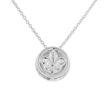 1 1/2ct tw NewBorn Lab Created Diamond Simply Love Collection Pendant in 14K  White Gold