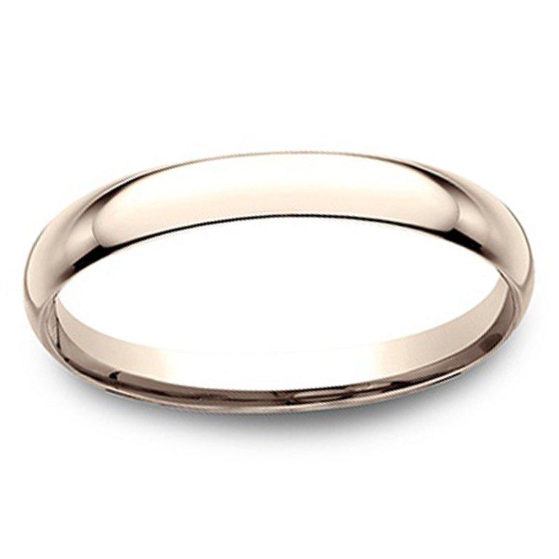 1.5mm Wedding Ring in 14K Rose Gold