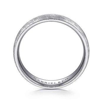 6mm Wedding Ring in 14K White Gold