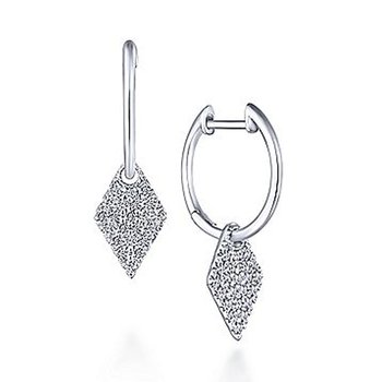 1/3ct tw Diamond Fashion Earrings in 14K White Gold